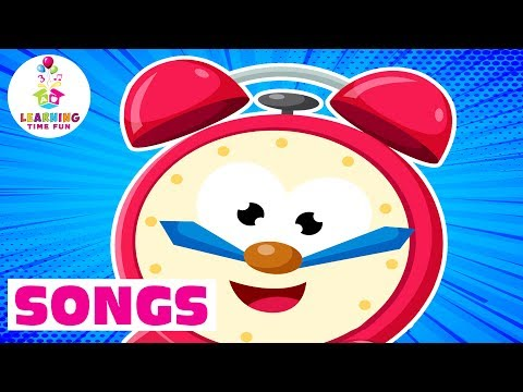 Let's Tell the Time | Learning Time Fun | Time for Kid's Songs | Kids Learning Songs | Time for Kids