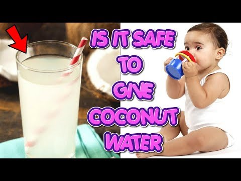 Coconut Water For Babies   Is It Safe For Your Baby #NaturalRemedies