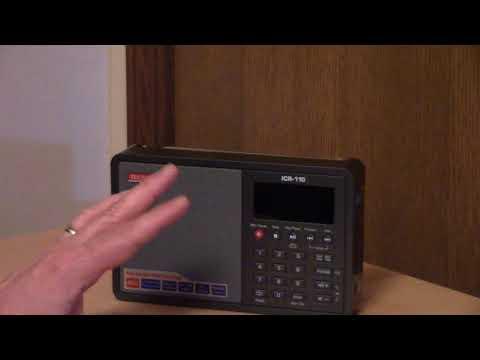 Tecsun ICR 110 AM FM MP3 Player Recorder