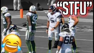 """NFL Funniest """"Mic'd Up"""" Moments From the 2018-2019 Season (Funny)"""
