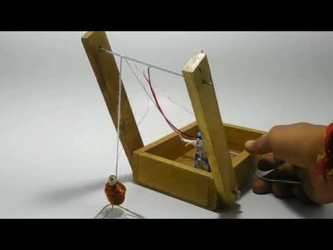 Magnetic Crane- class 6 science project.