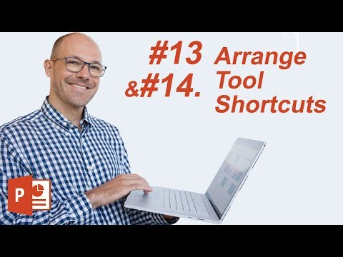#13: Arrange Tool Shortcuts (Microsoft PowerPoint Shortcuts)