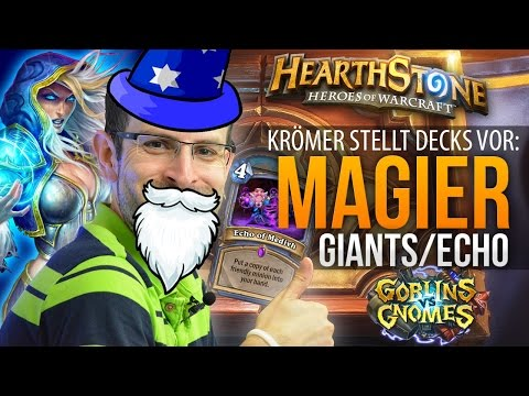 Hearthstone Decks: Magier (Echo/Giants) - GvG Addon