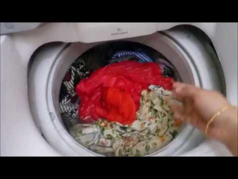 how to wash clothes in samsung top load washing machine in hindi