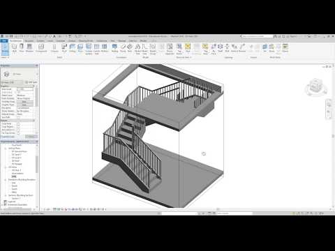 Revit 2018 Stairs