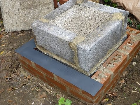 Tandoor Oven Build prt 2  - Insulated base