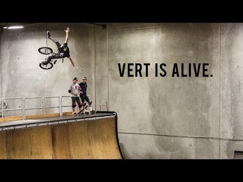 Vert is Alive - Tabron, Warden, & Larrin on Tony Hawk's Ramp