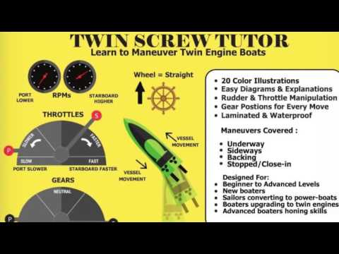 Twin Screw Tutor: Learn to Maneuver Twin Engine Boats