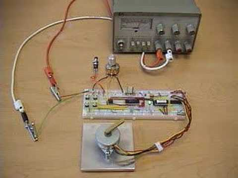stepper motor PIC-based position and speed controller