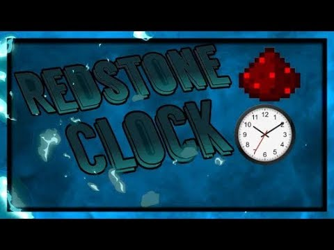 How to make a redstone clock / whatever in minecraft pe
