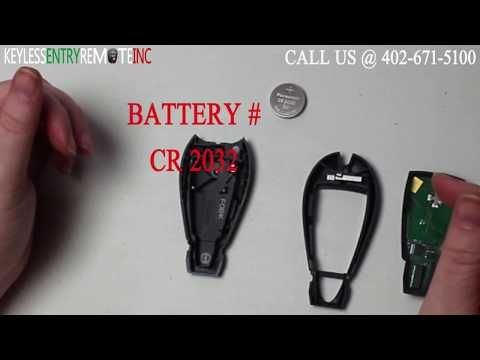 How To Replace Dodge Charger Key Fob Battery 2008 2009 2010 2011