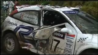 WRC Top 10 Spectacular Crashes - Part 2 / 4