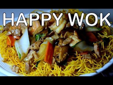 香港州城礦Cantonese Crispy Pan Fried Noodles: Authenthic Chinese Cooking.