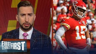Chiefs leaving Denver with a loss would be a red alert situation - Nick | NFL | FIRST THINGS FIRST