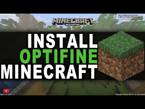 How to Install Optifine for Minecraft 1.12.2    Increase FPS on Minecraft 2018