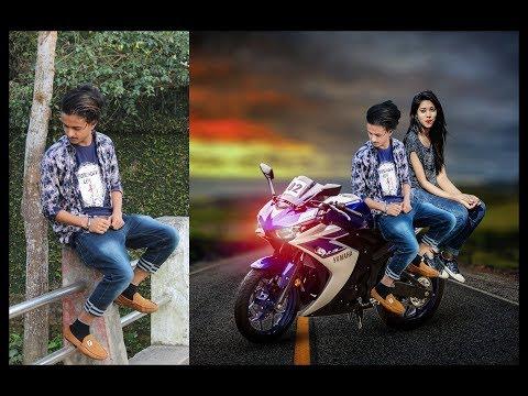Photoshop CC Tutorial single pic to couple Manipulation photo Edit