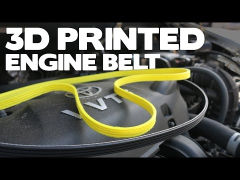 3D Printed Car Belt | Will It Run?