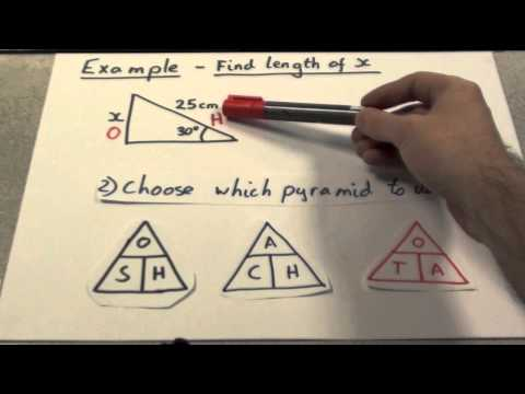 Trigonometry - Finding Side lengths