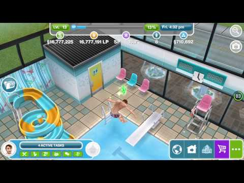 The simsfreeplay swimming pool Quests