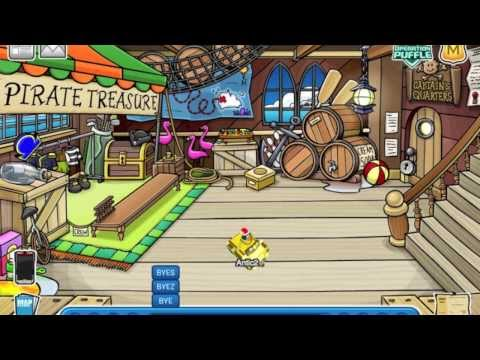 Club penguin go to Rockhoppers ship anytime