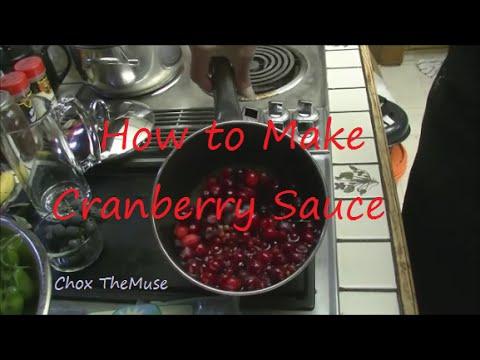 How to Make Cranberry Sauce Easy Recipe