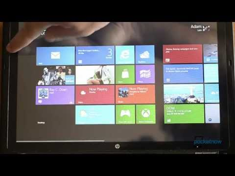 Windows 8 Release Preview on a Tablet PC