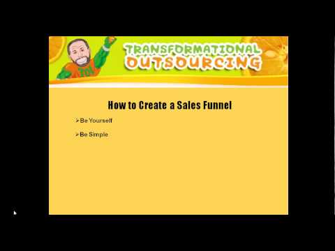 How to Create a Sales Funnel for your Prospects Part 2