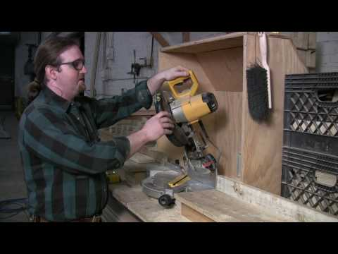 Home Repair & Power Tools : How to Use a Compound Miter Saw