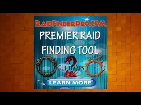 RaidFinderPRO - Raid finder tool for FFXIV, ESO and Guild Wars 2 group finder