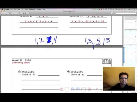 Excel 5-61 Determining Factors