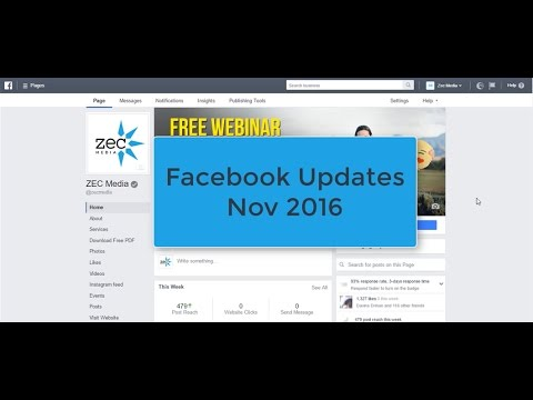 How to Customise Your Facebook Page With the Nov 2016 Updates