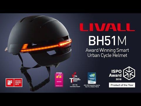 LIVALL BH51M Smart Bluetooth Urban Cycle Helmet - Award Winning