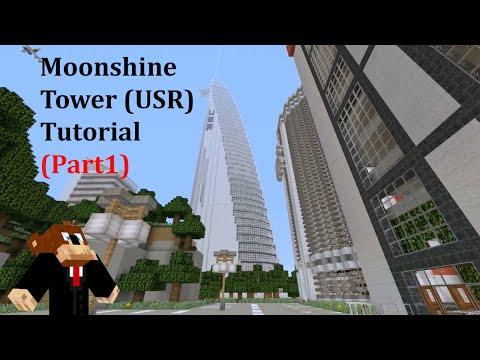 Minecraft: Modern Skyscraper Tutorial #2 (Part 1)