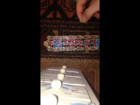 New rainbow loom tutorial-the bow tie bracelet