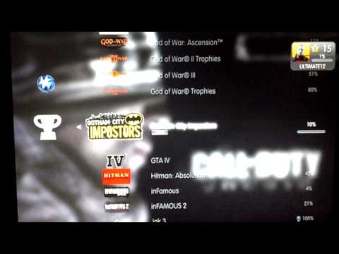 How to get easy trophies and Platinums on ps3