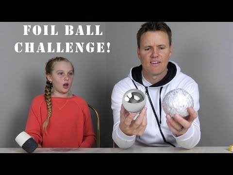 How to Make a Glass-Polished Aluminum Foil Ball!