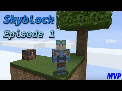 NO OAK SAPLING! - SkyBlock Episode 1