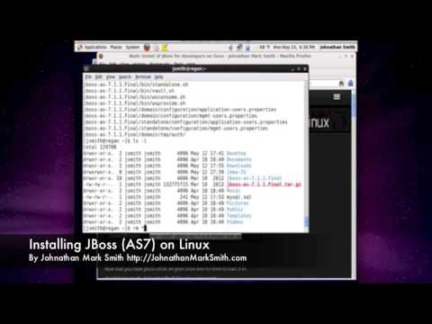 Installing JBoss (AS7) by Johnathan Mark Smith
