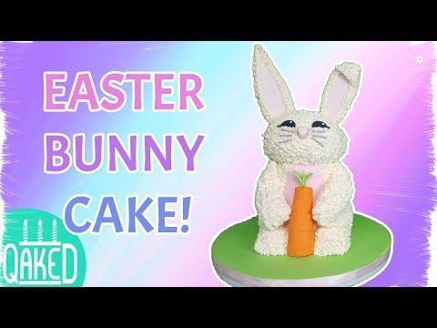 Easter Bunny Buttercream Cake | How to & DIY