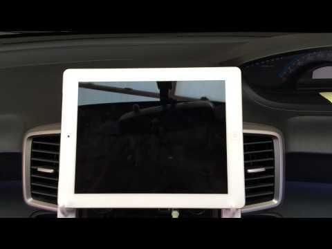 Cara memasang ipad di mobil