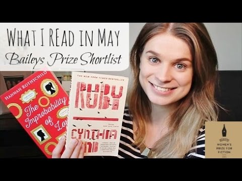 What I Read in May | Baileys Prize Shortlist