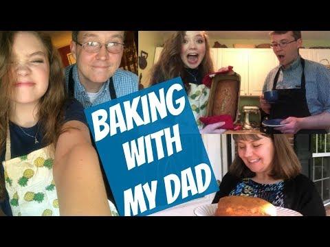 Baking with My Dad- Rick & Briana Make Banana Bread