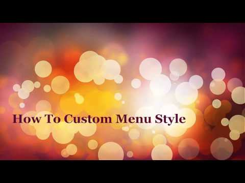 How To Custom Menu Style Fast With Design Editor - Magento 2 Mega Menu PRO Tutorials