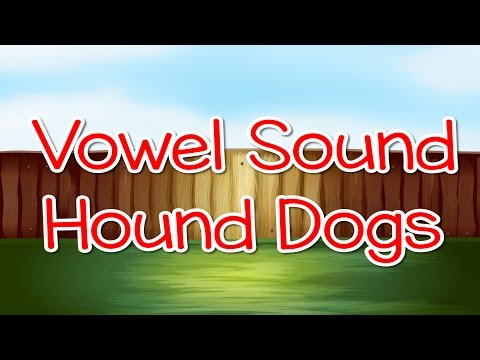 Vowel Sound Hound Dogs   Letter Sounds   Phonics Song   Jack Hartmann