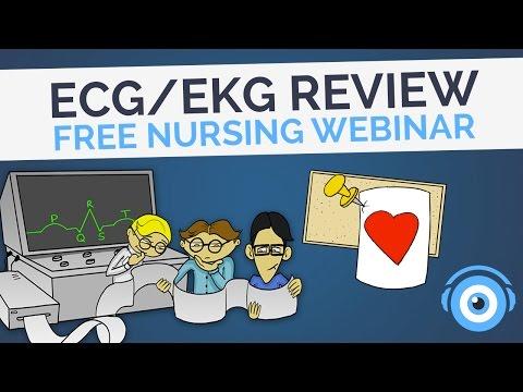 ECG/EKG Review | Picmonic Nursing Webinar