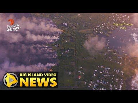 Hawaii Volcano Eruption Update - Sunday Afternoon (June 3, 2018)