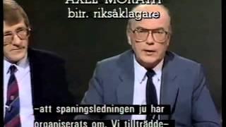 Palmemordet 1987 Polisspåret debatteras - SVT Forum