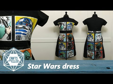 Making A Star Wars Dress | Sewing Project