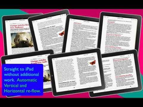 3-Minutes to Create an ePub / eBook using InDesign CS6 or CS5.5  [A Publisher