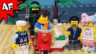 Lego Ninjago Last Day of Summer Vacation at the Beach